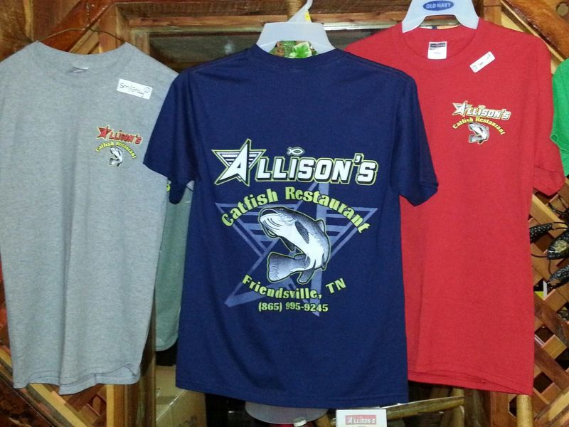 Allison Catfish shirts